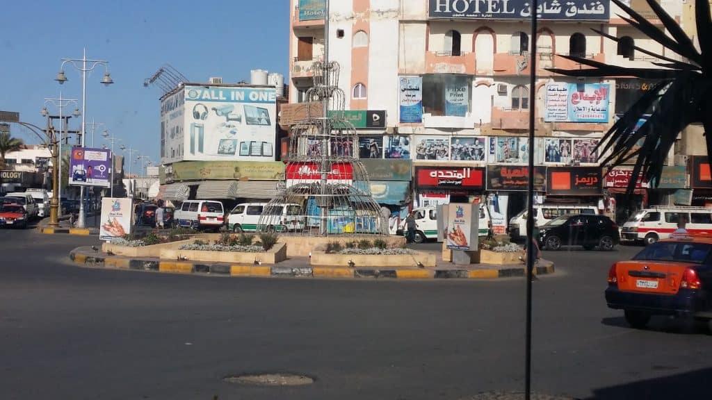 Египет такой какой он есть ,улицы и магазины в Хургаде-!