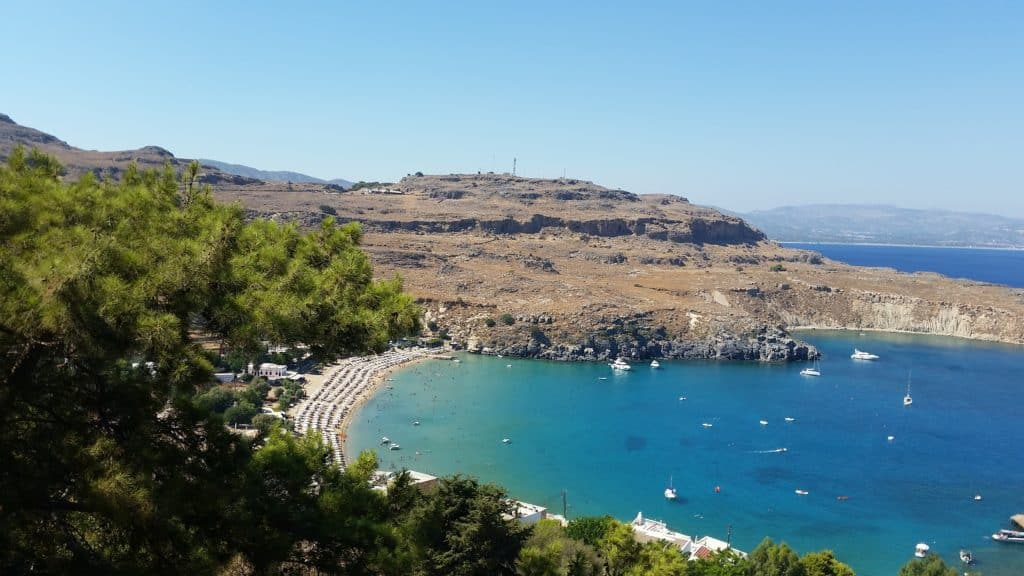 Lindos Na Wyspie Rodos W Grecji Berezatrevel