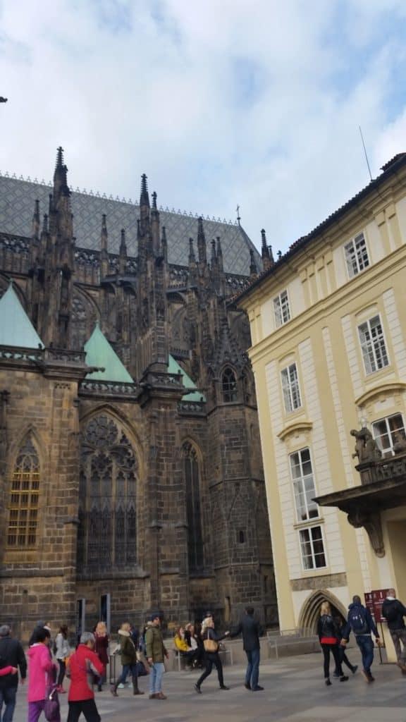 Градчаны, самый старый район в Праге-8
