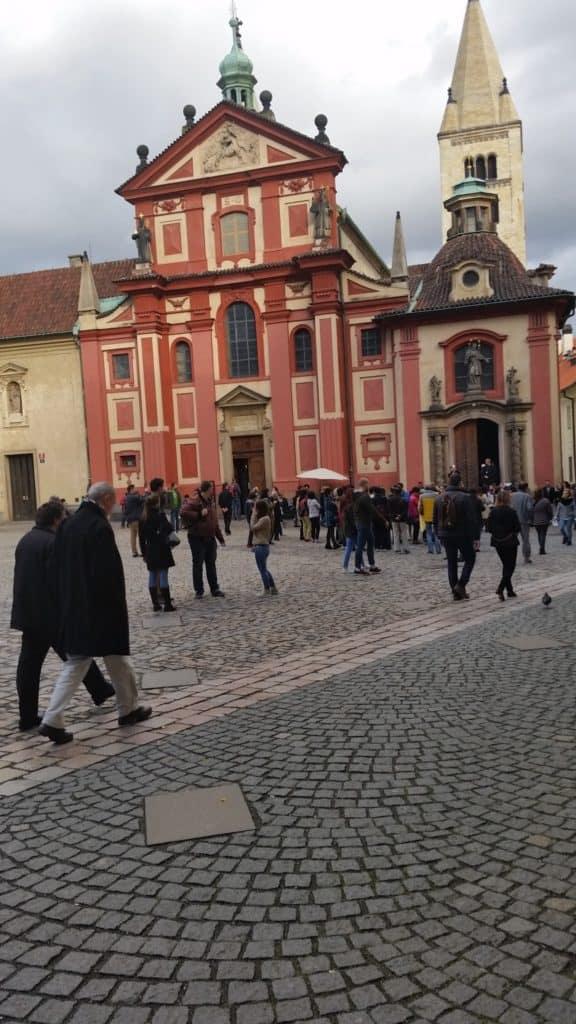 Градчаны, самый старый район в Праге-9
