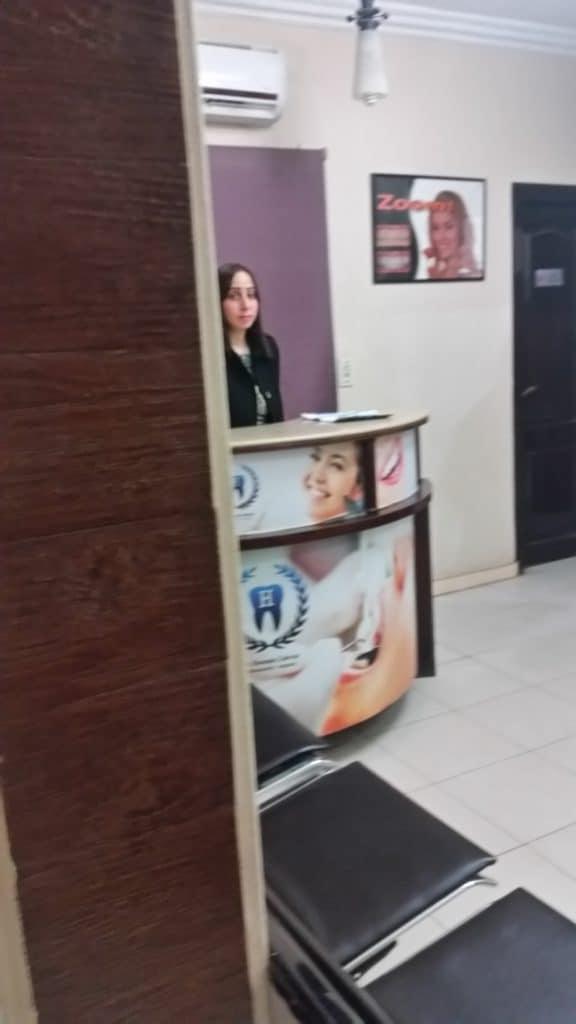 Hossam Zahran- доктор стоматолог в городе Хургаде,в Египте.