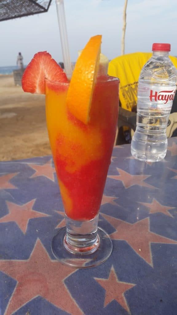 Пляж Parades Beach в городе Хургаде,Египет.