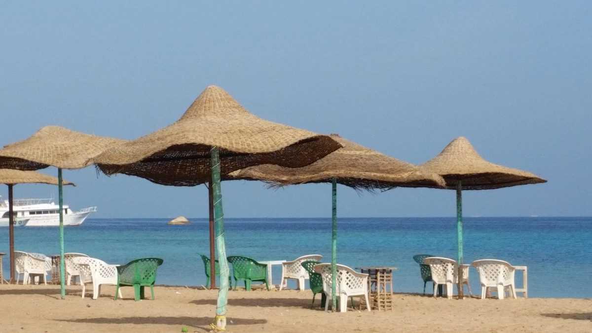 Plaża Parades Beach w Hurghadzie, w Egipcie.